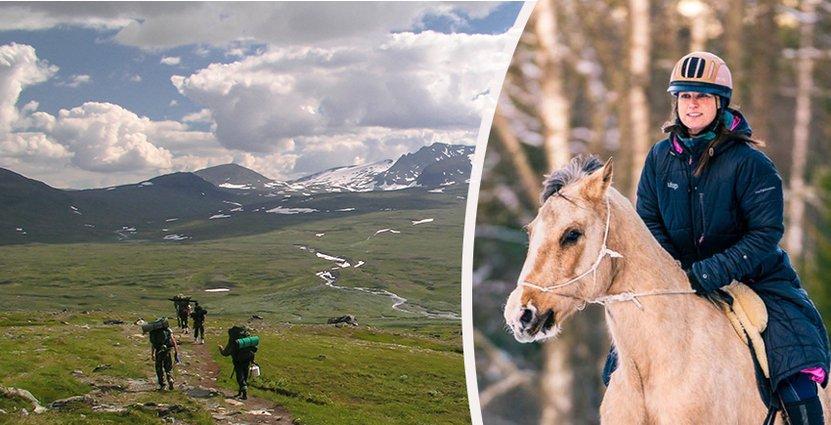 Turismföretagaren Jessica Sannö är lättad över regeringens<br />  förslag att återställa momsen på naturguider.  Foto: Ösjönäs/Colourbox