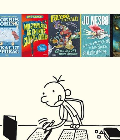 8 hysteriska böcker för barn som älskar