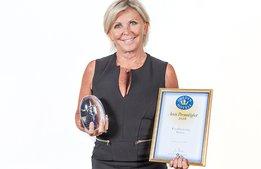 Eva Östling är Årets personlighet i hotellbranschen