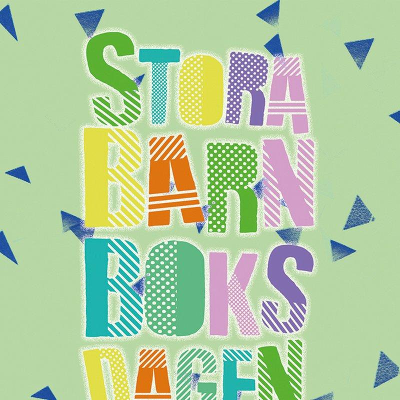 Stora barnboksdagen är årets bästa dag!