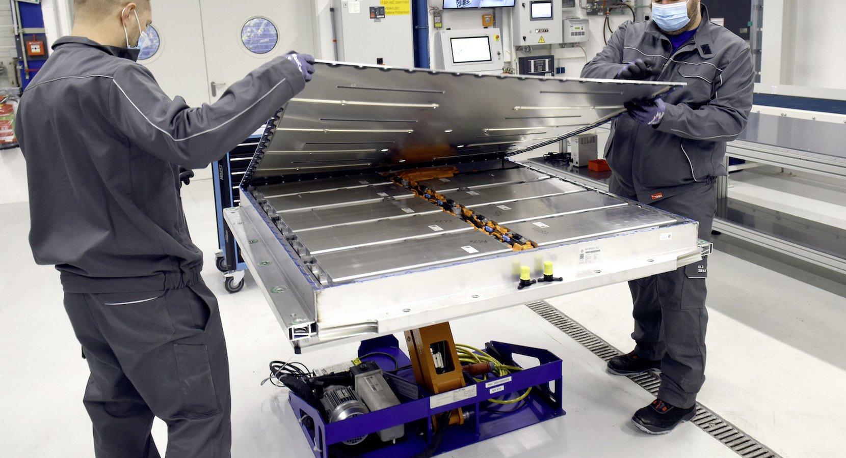 Batteriåtervinning VW Salzgitter_Foto_VW