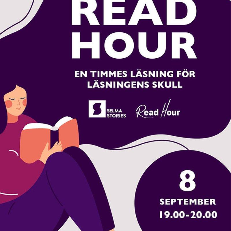 Read Hour uppmuntrar världen att läsa
