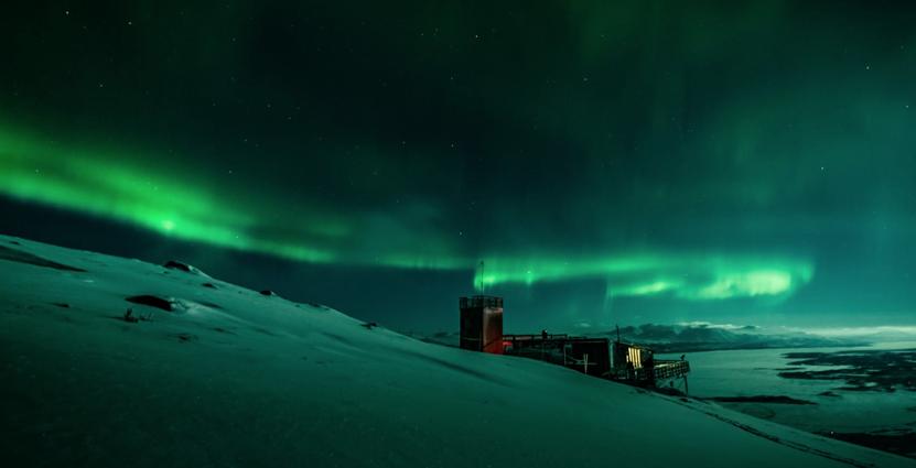 Norrskenet är en gratis naturupplevelse som kan<br />  paketeras på många sätt mot turister. Foto: Swedish Lapland