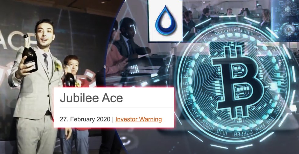 Financial authorities in two countries issue warnings about MLM-company Jubilee Ace