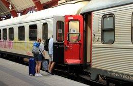Mässa för tågsemester söker hotell och destinationer