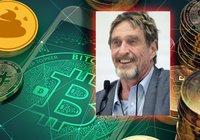 Efter brutna penislöftet – nu kallar John McAfee bitcoin för