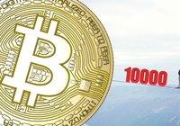 Bitcoin's dominance below 70 percent again – price balances around $10,000