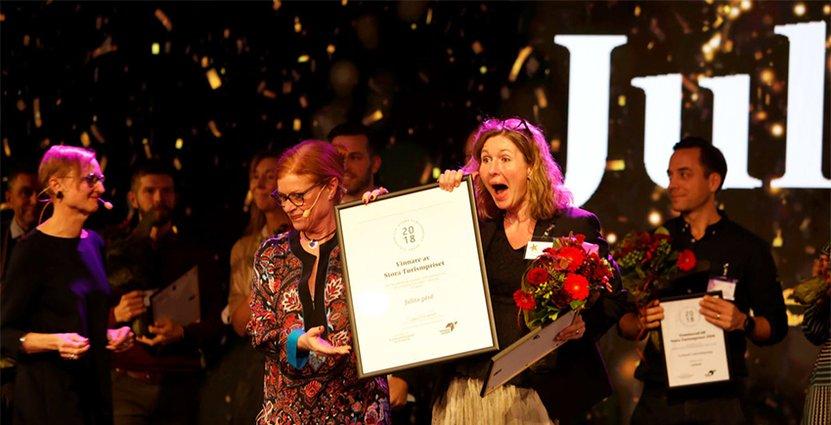 Många nytänkande kandidater fanns bland de nominerade, vinnaren<br />  Julita Gård var helt klart en av dem.  Foto: Pressbild