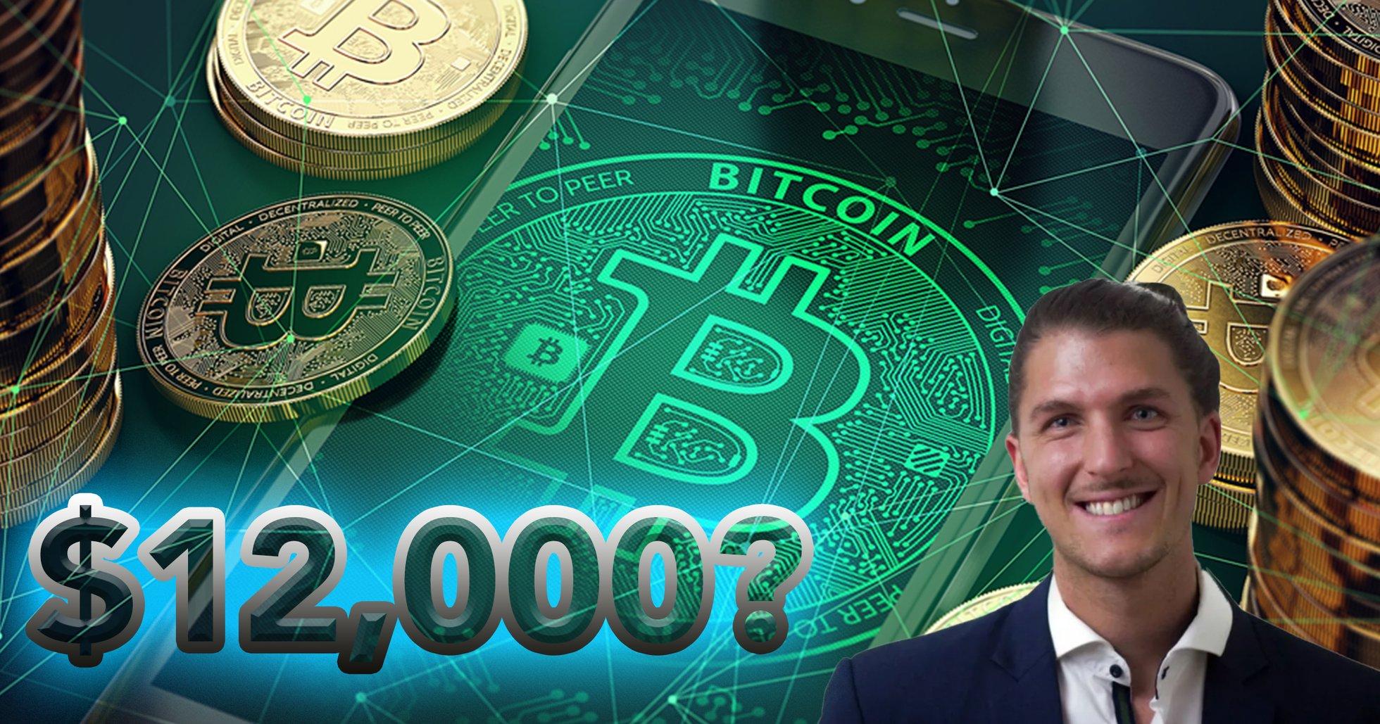 Analys: Bitcoinpriset rusar uppåt – nu kan kryptovalutan testa 12 000 dollar
