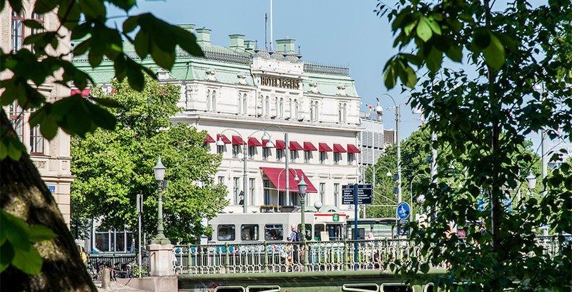 På Hotell Eggers i Göteborg har andelen utländska gäster ökat de senaste åren. Foto: Hotell Eggers