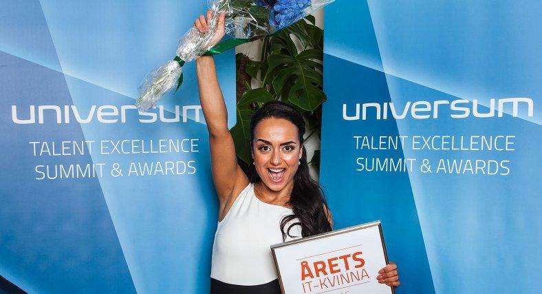 Förra året utsågs Ishtar Touailat till Årets IT-kvinna.