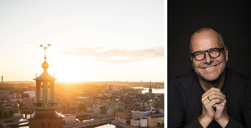 Krögaren Pelle Lydmar tror på kreativa samarbeten för att stärka den internationella bilden av Stockholm. Foto: Visit Stockholm