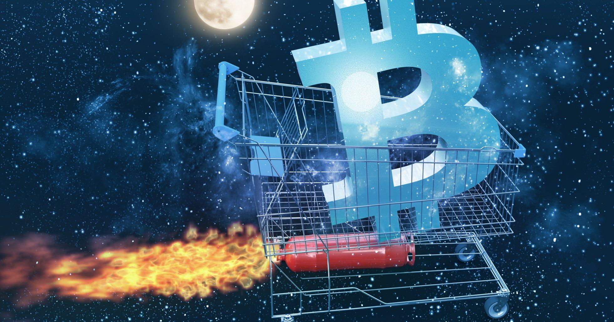 Bitcoinpriset fortsätter sitt rally – har stigit 23 procent på ett dygn.