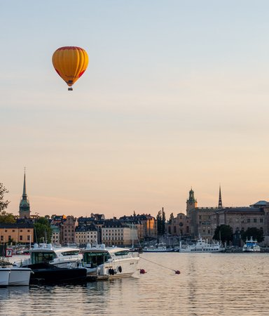 Stockholm i våra hjärtan- 5 spänningsromaner i huvudstaden