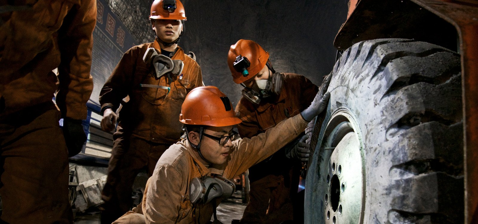 <p>Fifty thousand people live in the local town, Jinzhong, and eighty percent of those work for the Kailin group in some capacity.</p>