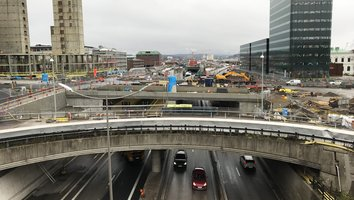 Trafiken på Götaleden flyttas till nya lägen