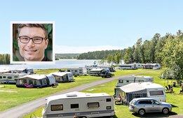 """First Camp: """"30 procent fler utländska campingturister"""""""