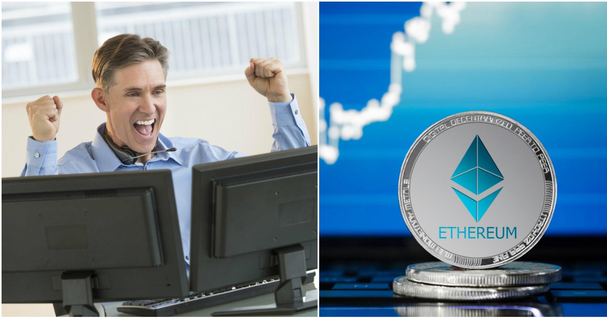 Kryptodygnet: Marknaderna stiger – ethereum ökar mest bland de största valutorna.