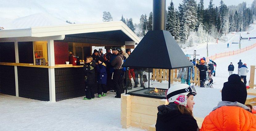 Täckt personalbehovet. Fred's Place är en av krogarna i Sälen som stärkt upp med säsongare från Västkusten.
