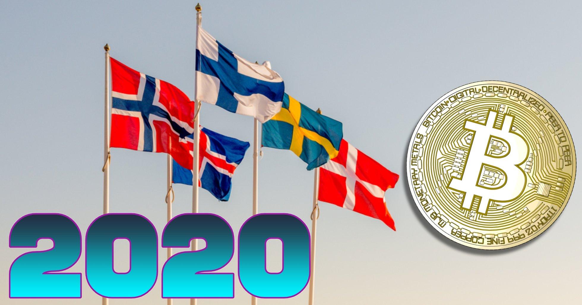Här är de 5 viktigaste kryptonyheterna i Norden under 2020.