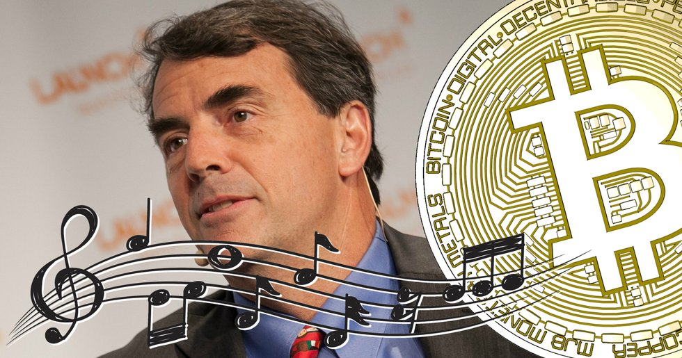 Tim Draper just released a song about bitcoin.