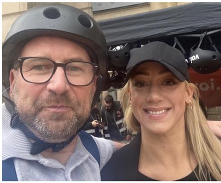 Voi e-scooter love in Birmingham