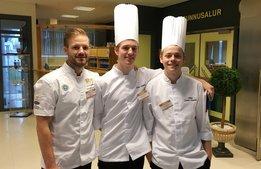 Guld för Sverige i köks-NM