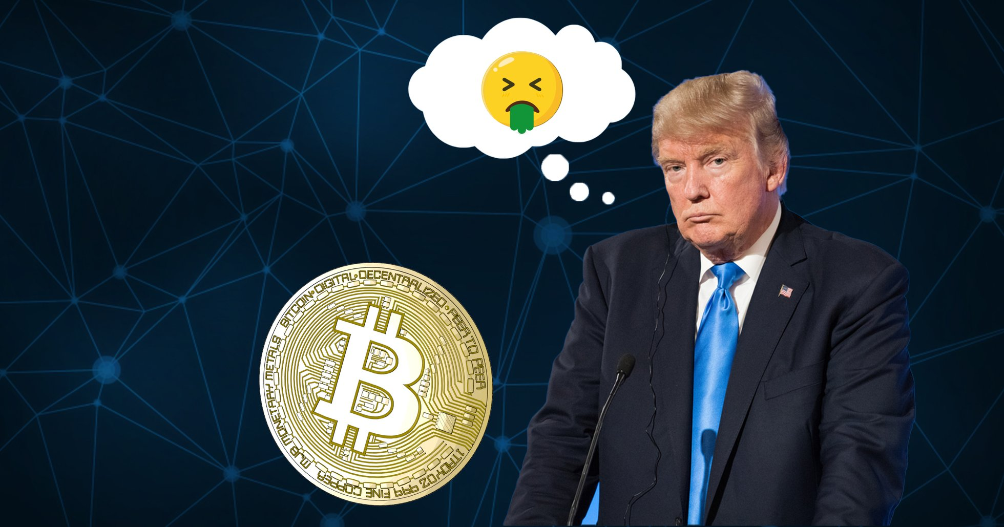 Donald Trump is not a fan of bitcoin: It's pretend money based on thin air
