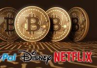 Nu har bitcoin ett högre marknadsvärde än Disney, Netflix och Paypal