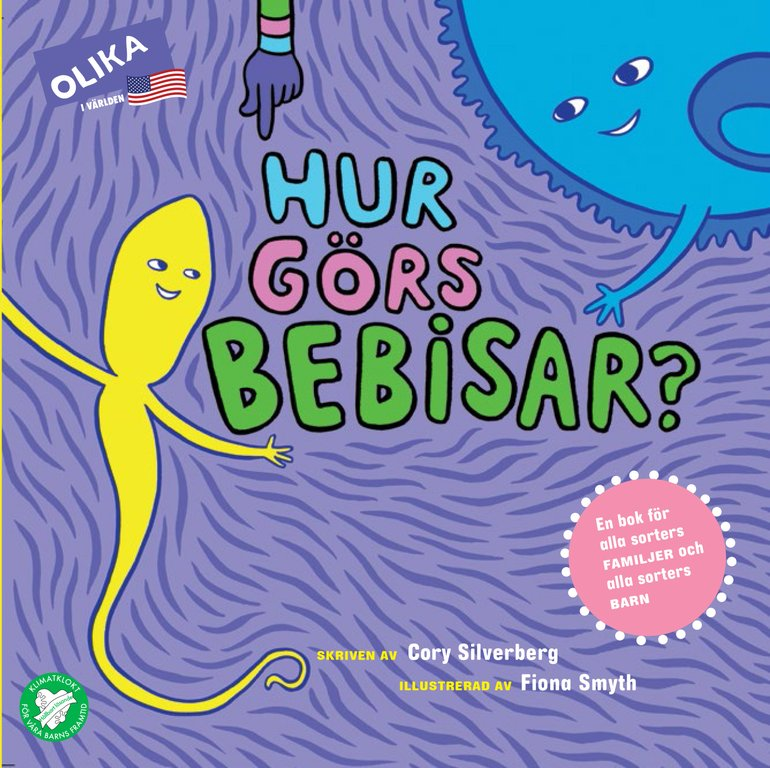 Så blir barn till – 9 barnböcker om hur det funkar