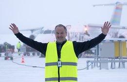Sälens nya flygplats: Bra start trots brittiskt bakslag