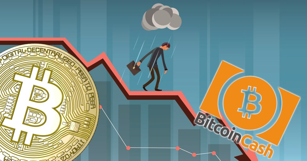 Daily crypto: Markets decline – bitcoin cash loses the most of the biggest currencies.