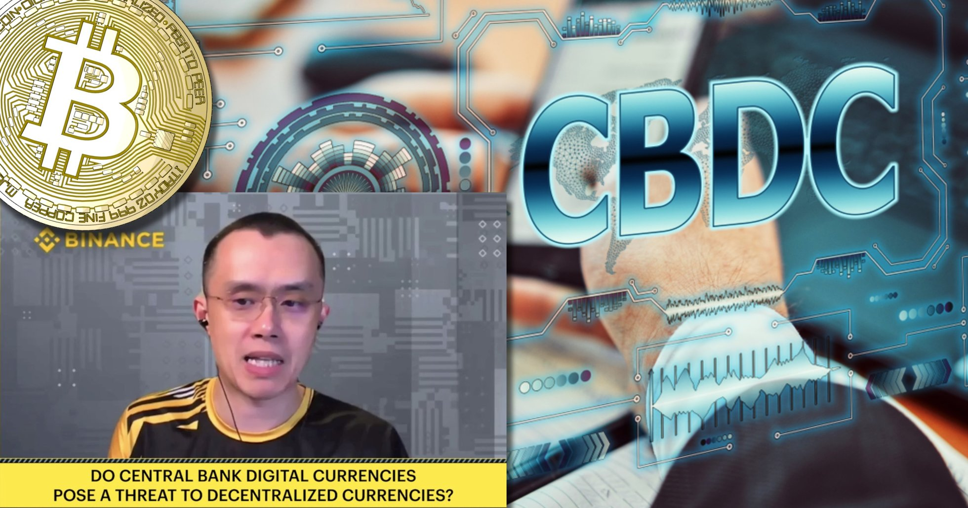 Binances vd: Centralbanksutfärdade digitala valutor kan vara hot för bitcoin