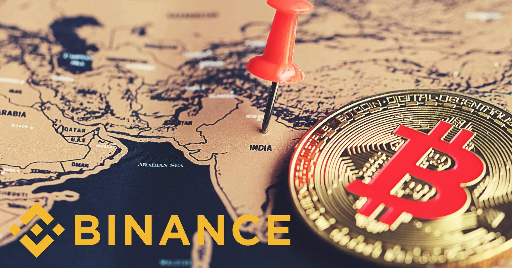 Binance går in på den indiska marknaden –köper kryptobörsen Wazirx.