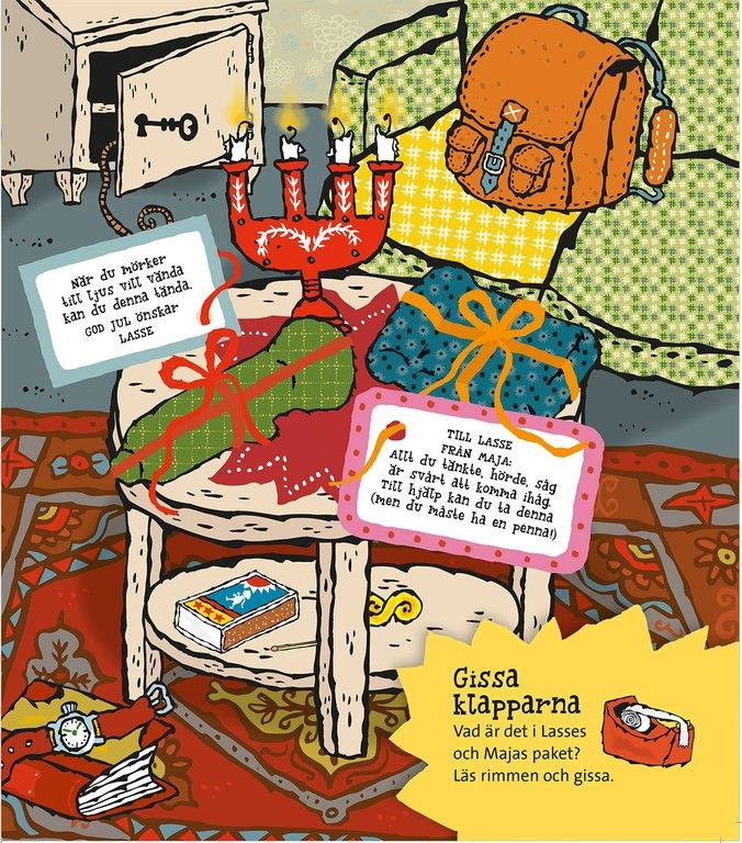 Distrahera barnen med ett LasseMaja-mysterium direkt i mobilen