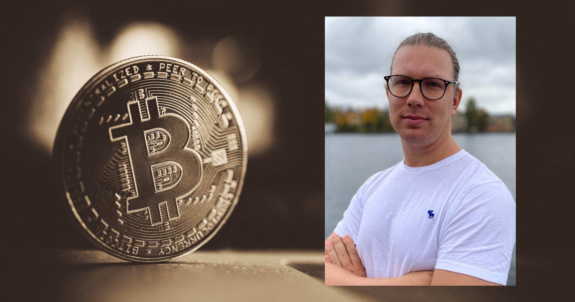 Martin Byström: Det tog mig fem år från det att jag hörde om bitcoin till att jag köpte.