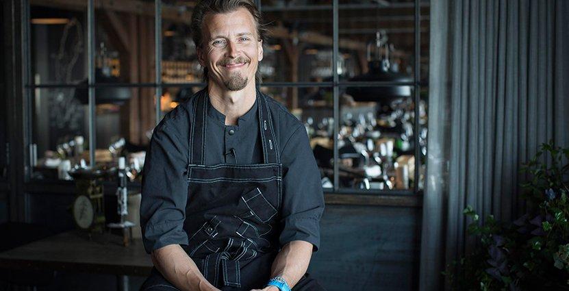 Paul Svensson tävlar mot världens bästa museirestauranger.