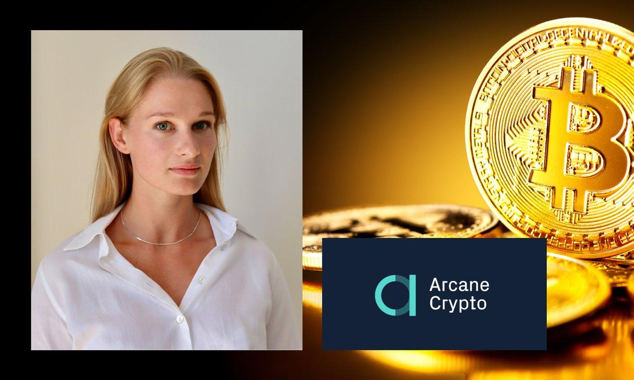 Finansprofilen Anna Svahn blir styrelseledamot i Arcane Crypto.
