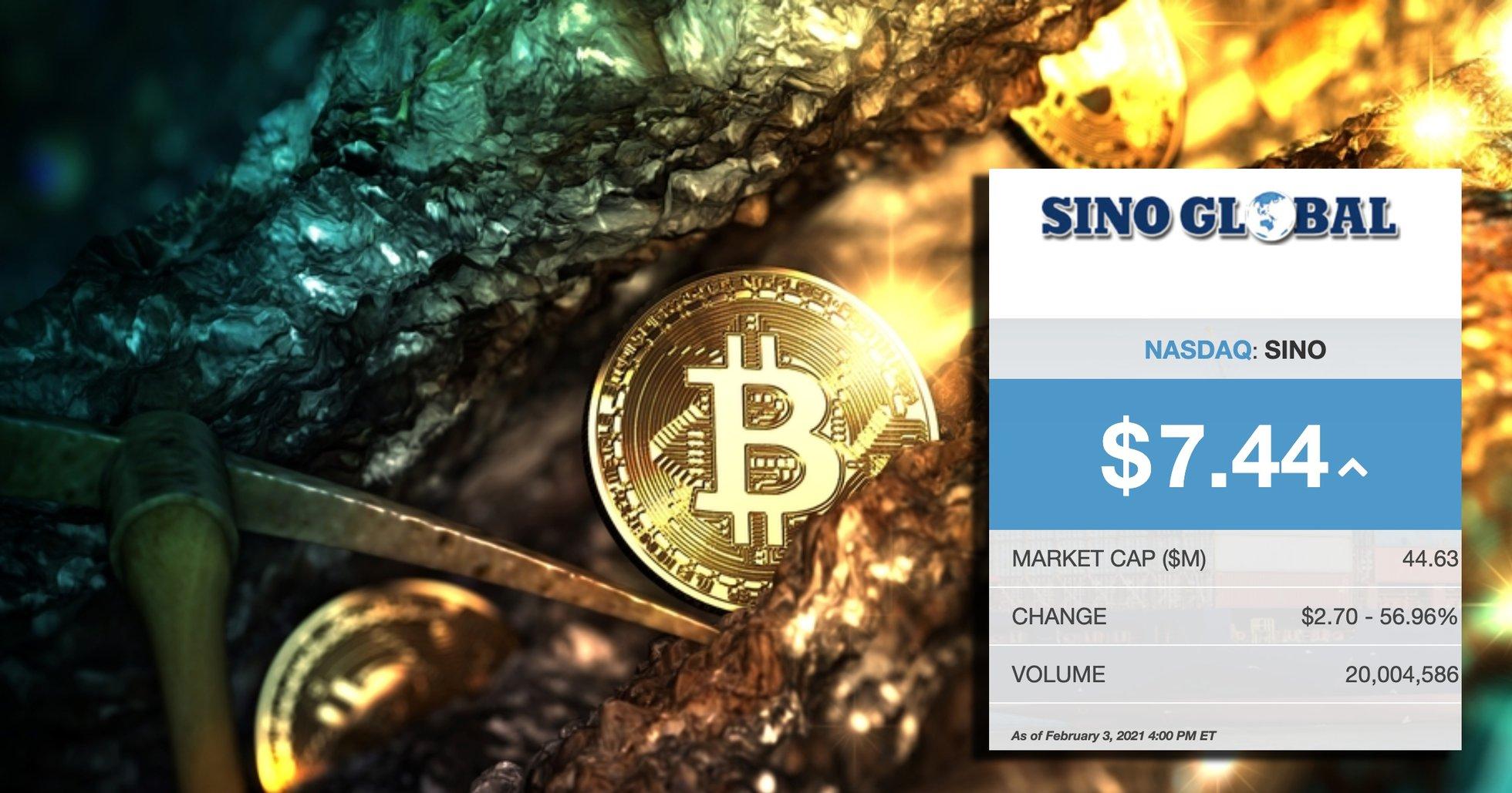 Stort börsnoterat fraktbolag satsar på bitcoinmining