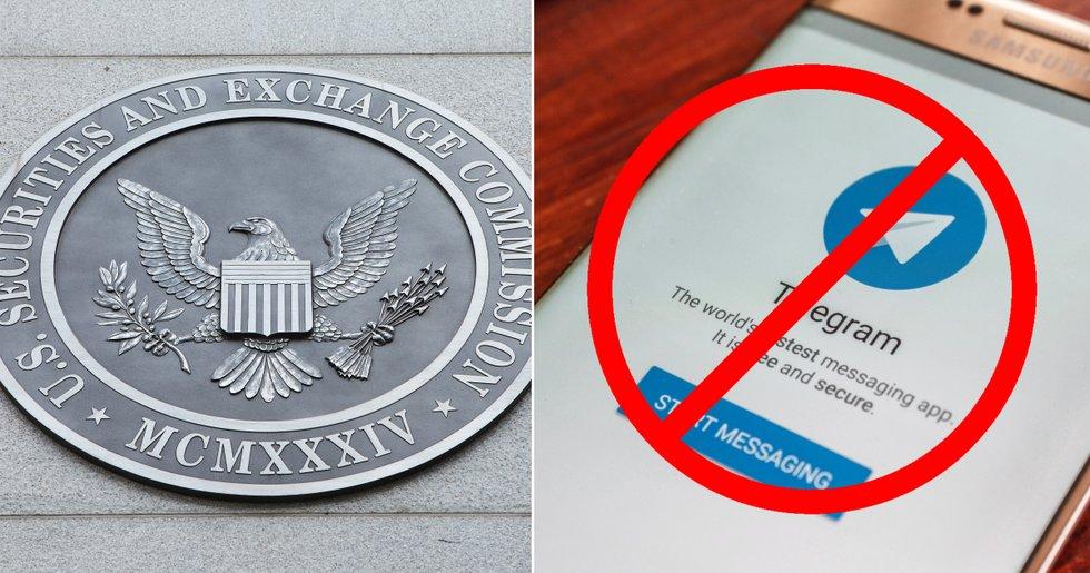 Amerikanska myndigheter stoppar Telegrams över 16 miljarder stora ICO.
