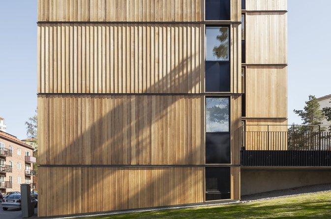 Skagershuset hyllas i samband med Träpriset 50 år