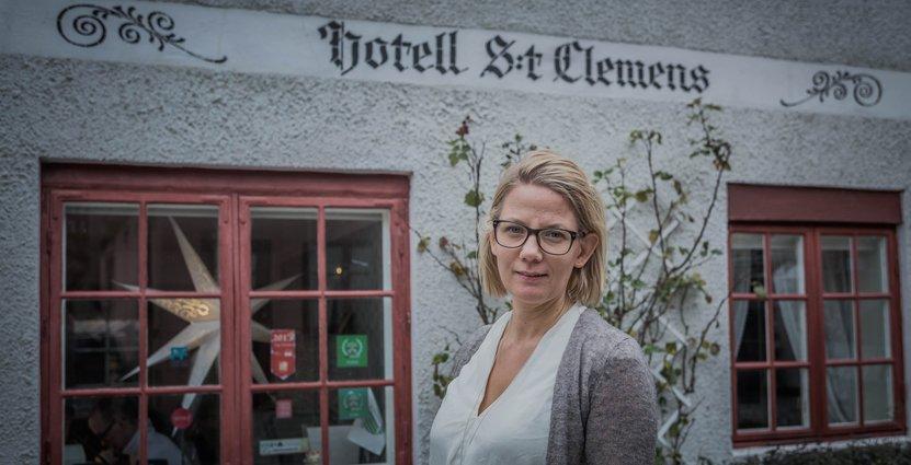 Hotell med hållbarhetsprofil. För Ägaren Menette von Schulman har skrotat alla kemikalier. Foto: Besöksliv