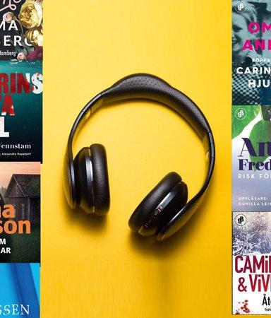 8 bästa ljudböckerna under tre timmar