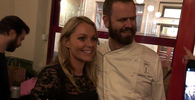 Tina Trigg och Markus Löfgren möttes på Restaurangakademien. Nu har de öppnat kvarterskrogen Café Cuvée på Södermalm i Stockholm. Foto: Café Cuvée
