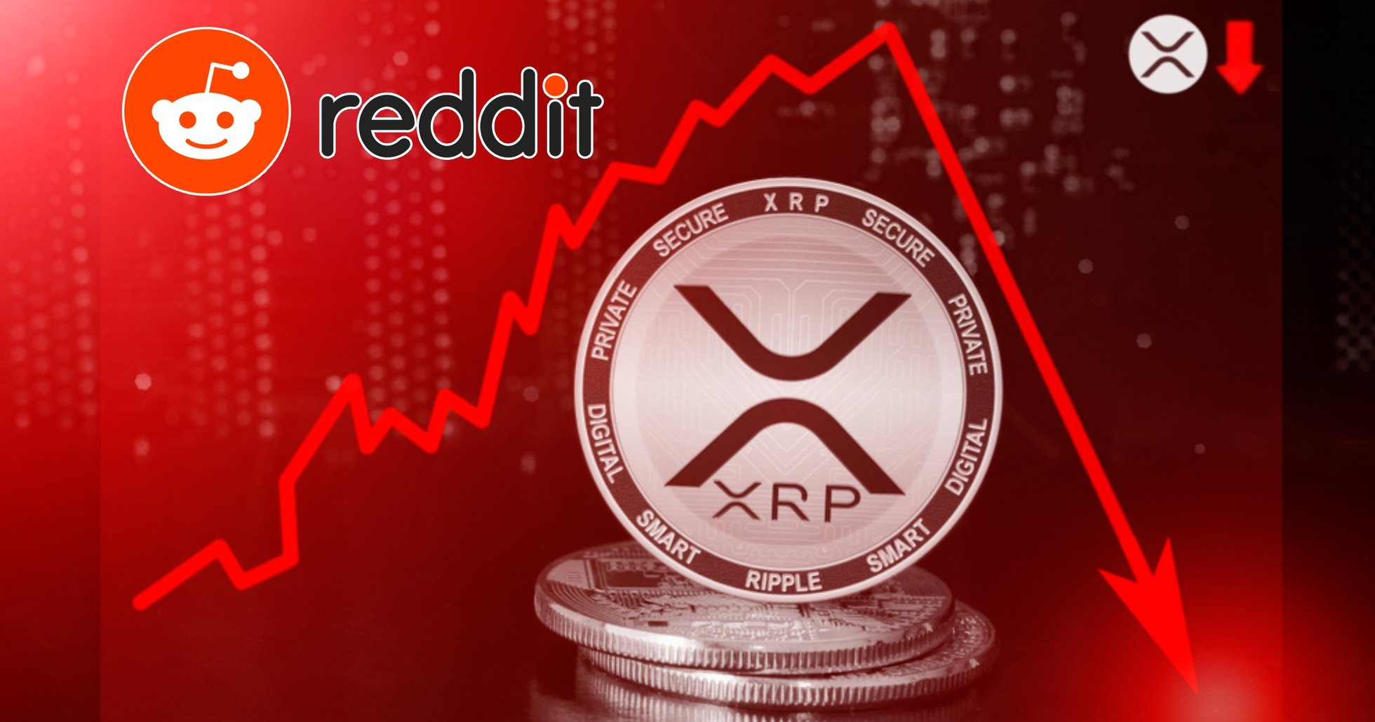 Xrp-priset rasar efter Reddit-rusningen – har tappat över 50 procent