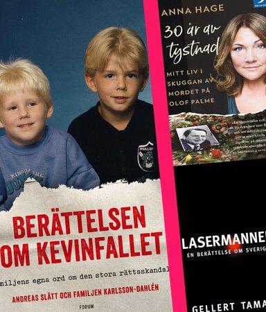 Fängslande läsning – 8 böcker om brott som skakat Sverige