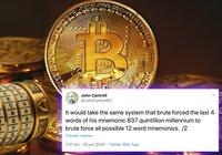Utvecklare lyckades hacka bitcoinadress – nu förklarar han varför kryptovalutan fortfarande är säker
