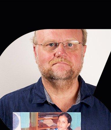 Yttrandefrihet: Ola Larsmo talar till Uma Singh