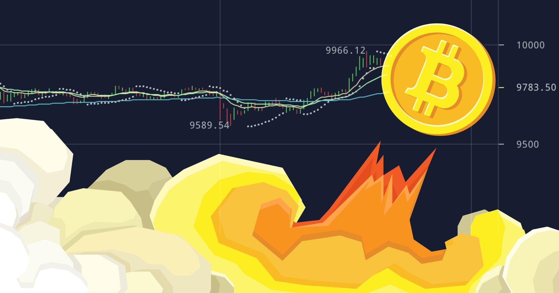 Expert när bitcoinpriset nosar på 10 000 dollar: Mest positiva indikatorn sedan 2017