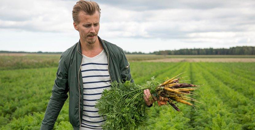 Paul Svensson har gjort sig känd inom restaurangvärlden för att värna extra om grönt och hållbarhet.